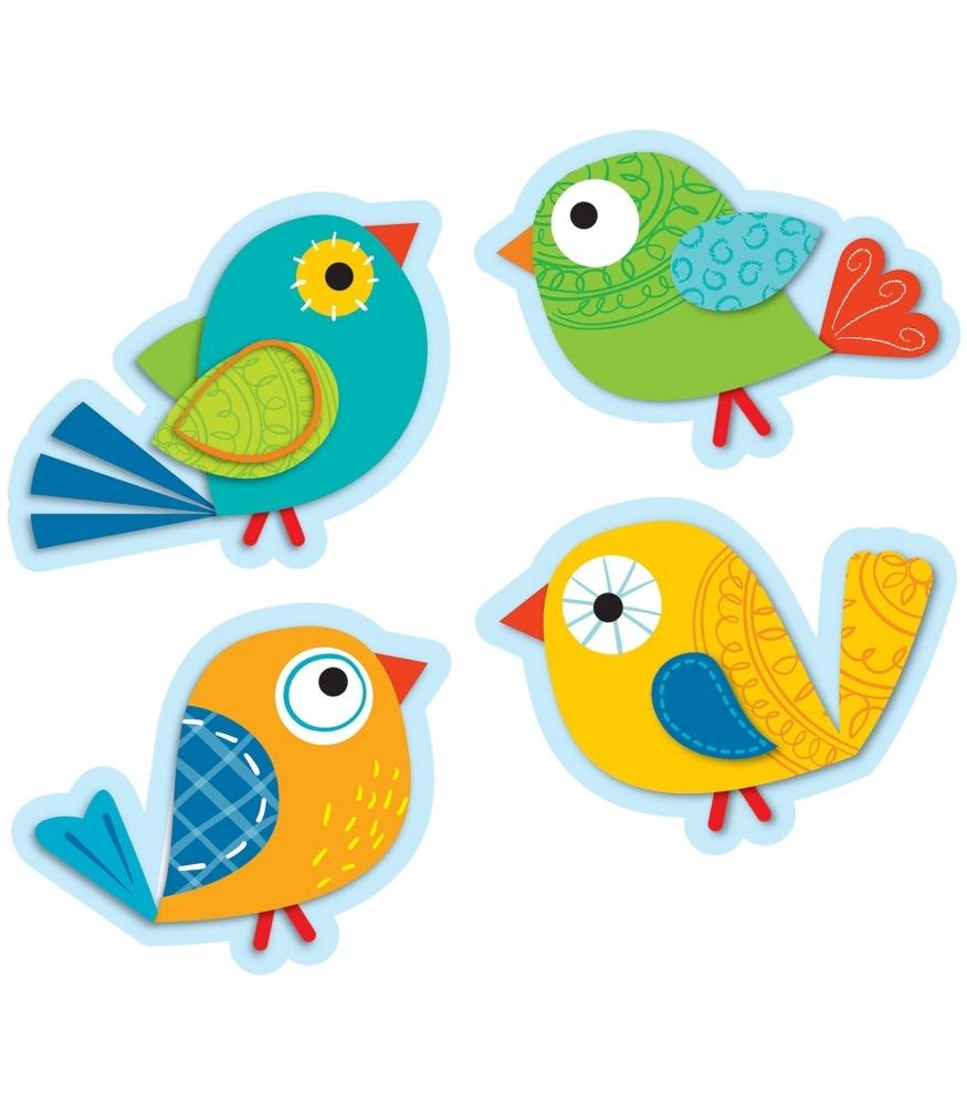 Boho Birds Cut-Outs