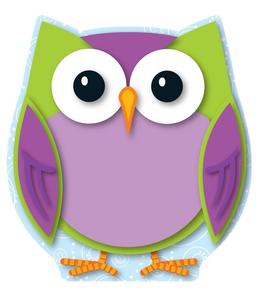 Colorful Owl - Mini Cut-Outs