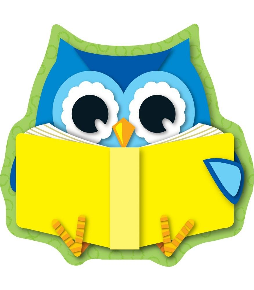 Reading Owl - Mini Cut-Outs