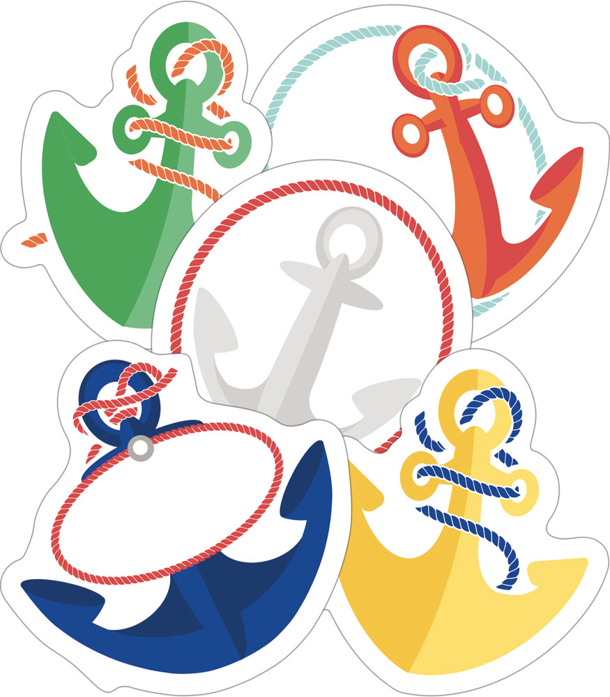 Anchors - Mini Cut-Outs