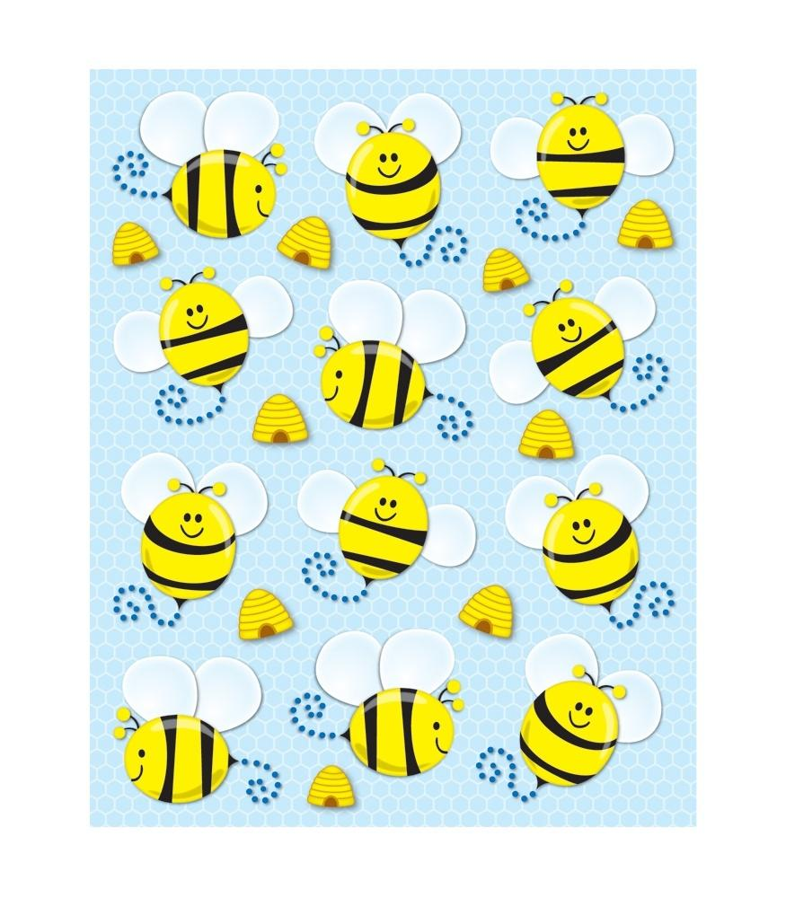 Bees - Shape Stickers