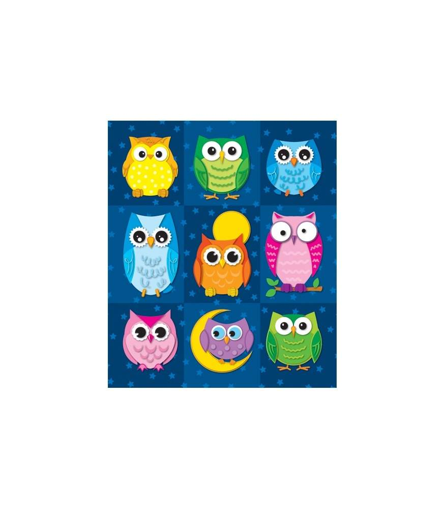 Colorful Owls - Prize Pack Stickers