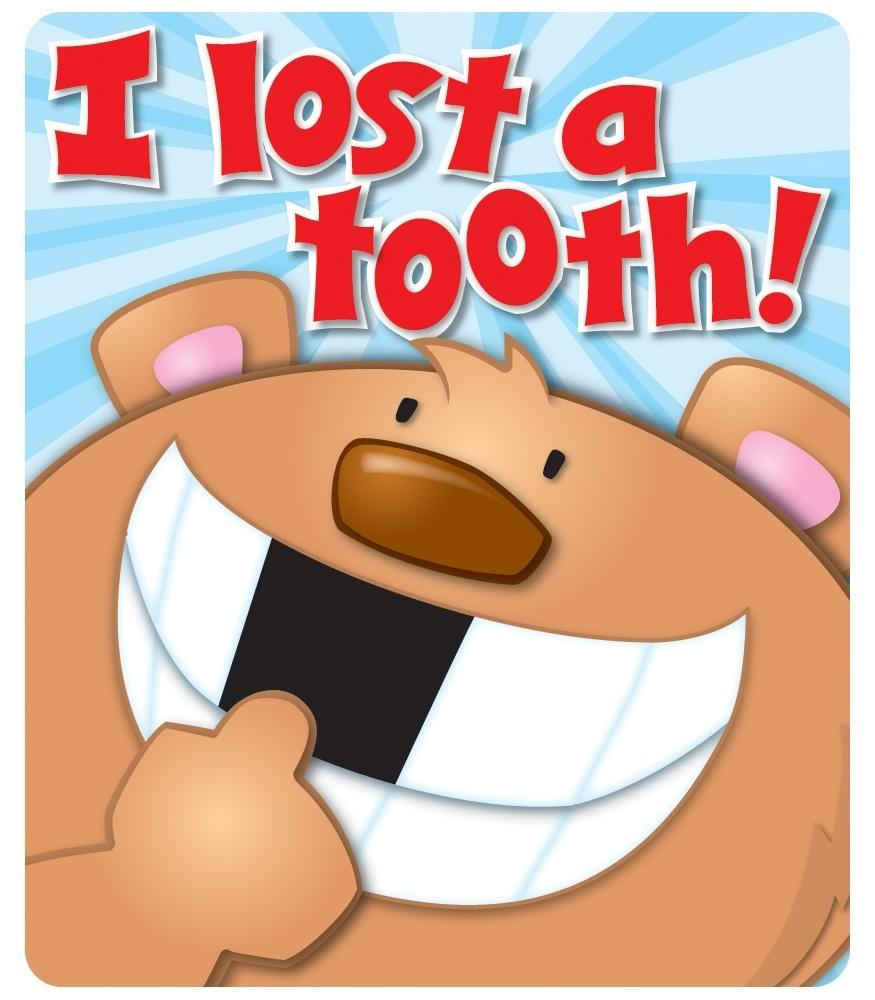 I Lost a Tooth - Motivational Stickers