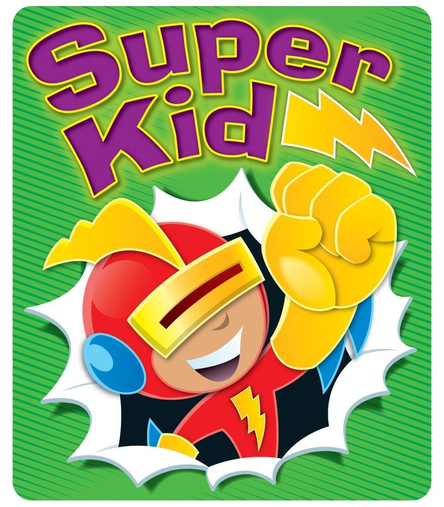 Super Kid - Motivational Stickers