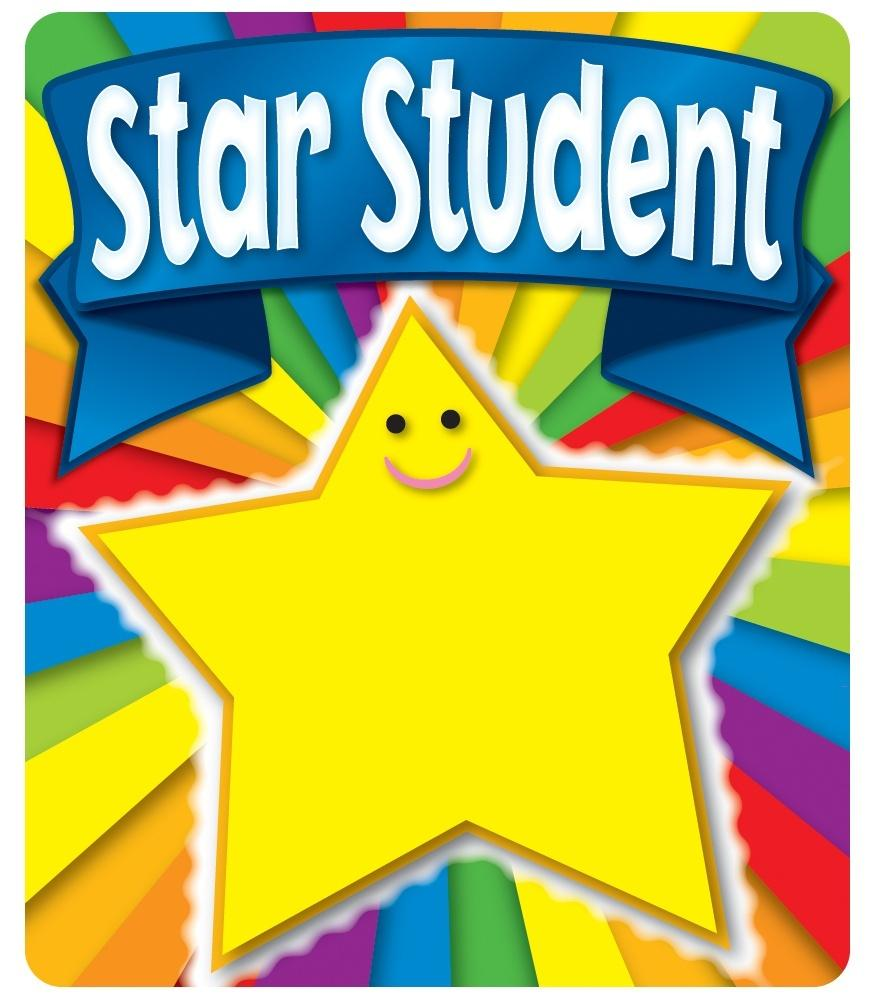 Star Student - Motivational Stickers