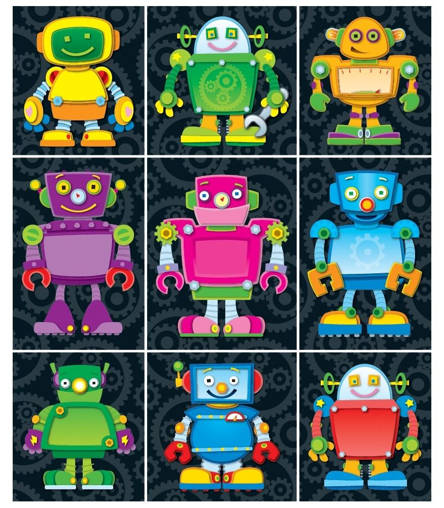 Robots - Prize Pack Stickers