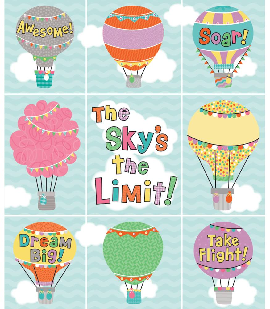 Up and Away - Prize Pack Stickers