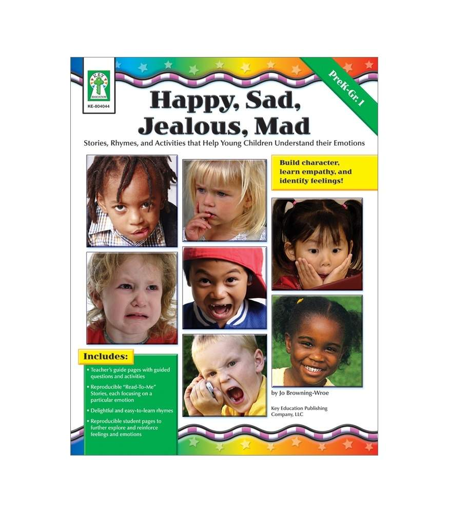 Happy, Sad, Jealous, Mad - Resource Book
