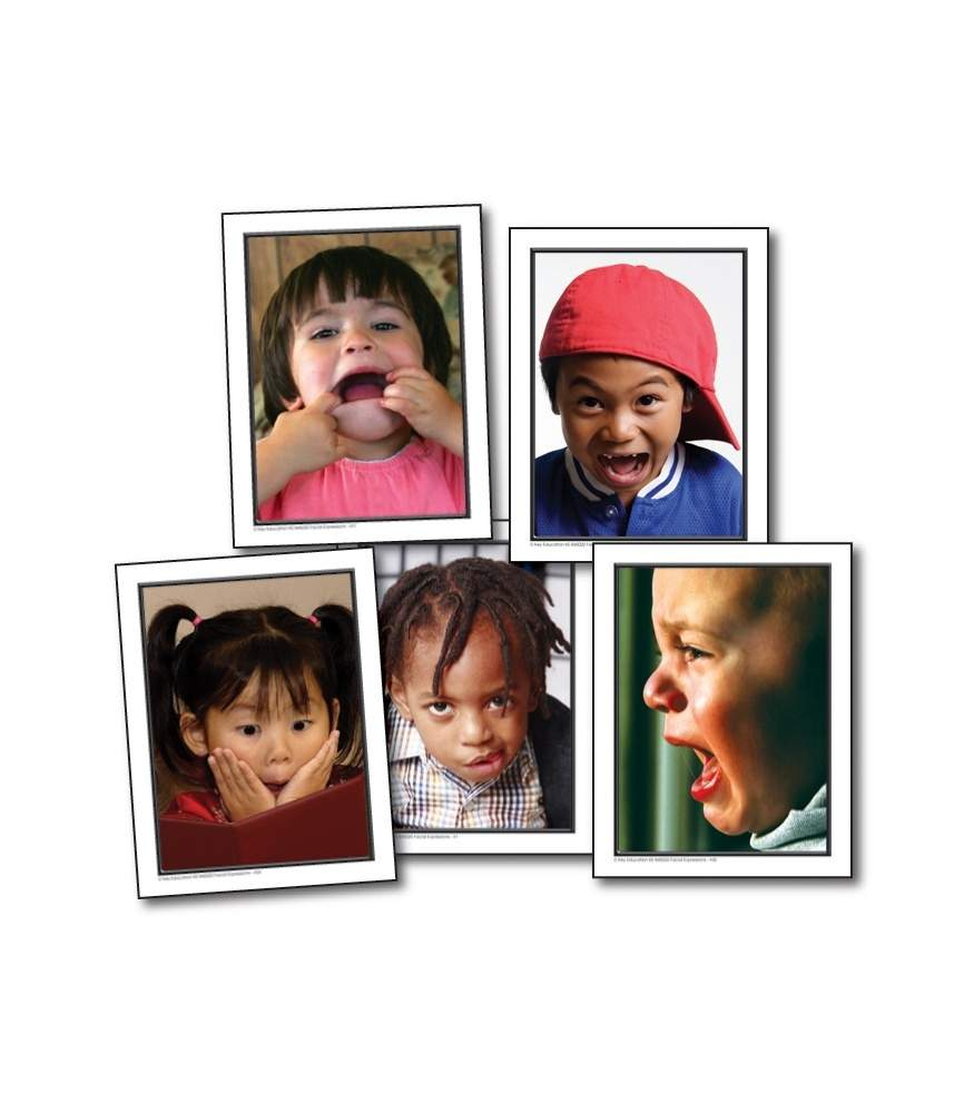 Facial Expressions - Learning Cards