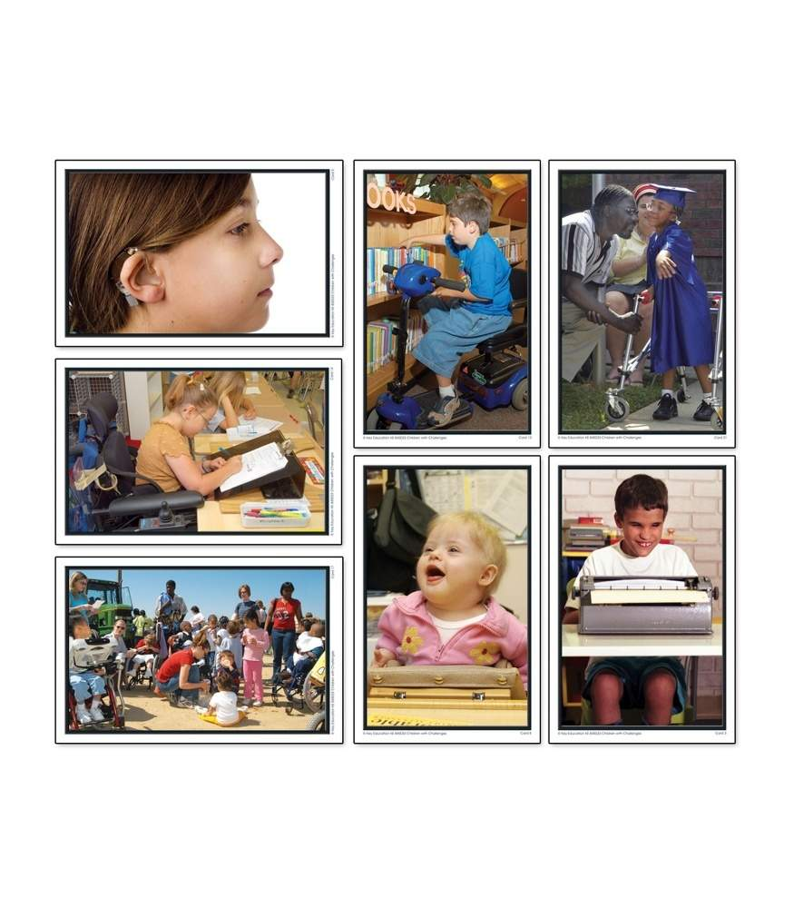 Children with Challenges - Learning Cards