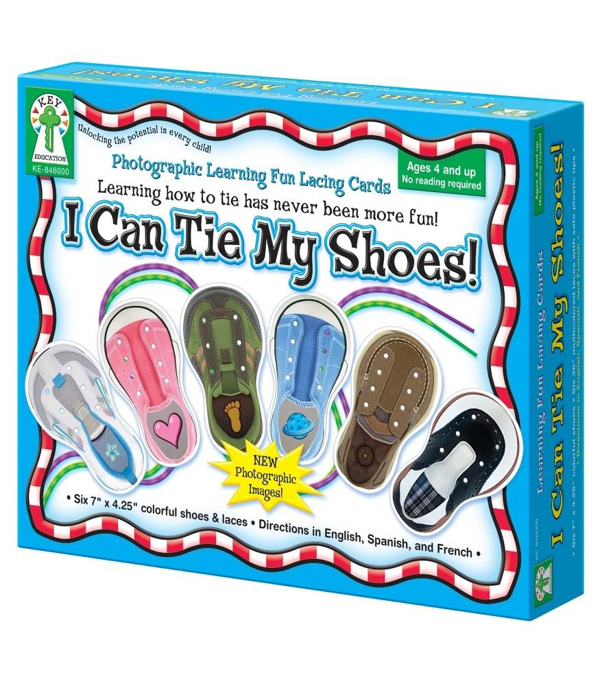I Can Tie My Shoes - Lacing Cards