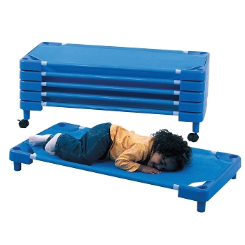 Childrens Factory Toddler Cot - 5 Pack - Royal Blue