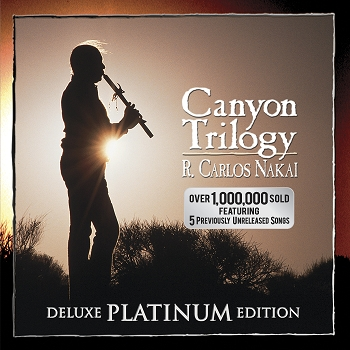 Canyon Trilogy, Deluxe Platinum Edition CD, by R. Carlos Nakai