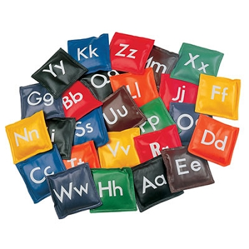 Alphabet Bean Bags, Set of 26