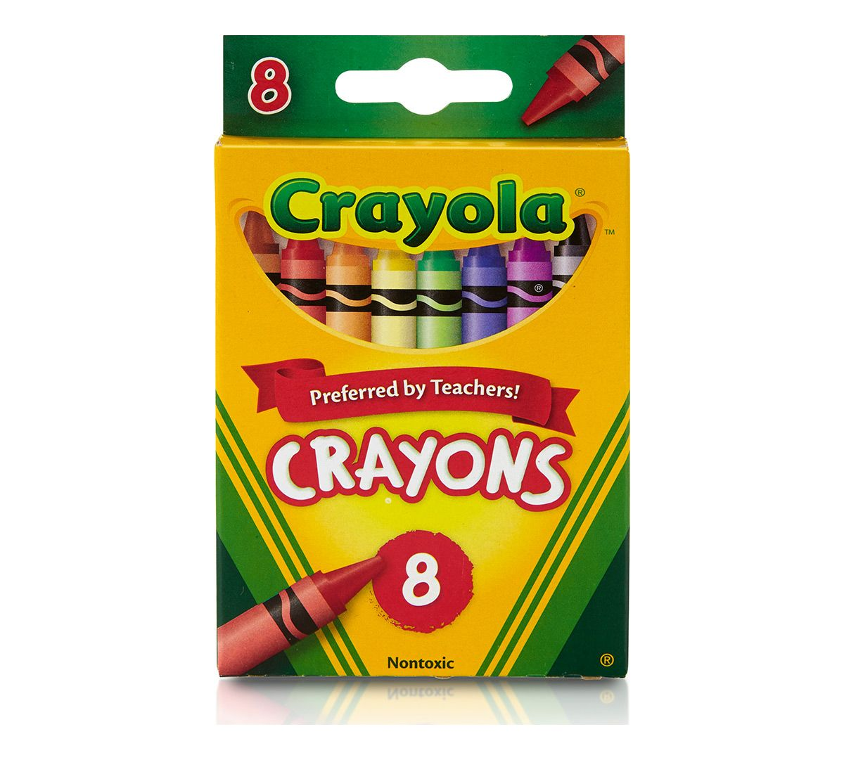 Crayola Wax Crayons - 8 Count
