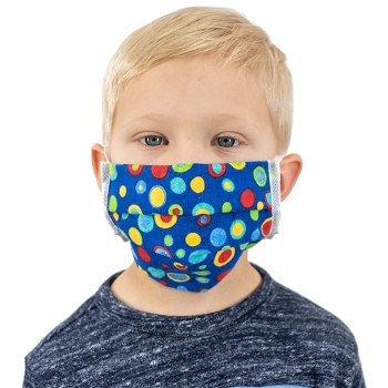 Child's Reuseable Washable Face Mask Pack of 20 (Multi-Colored/Assorted)