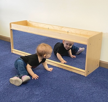 Value Line Infant - Toddler Storage and Divider with Cruising Rail, Fully Assembled
