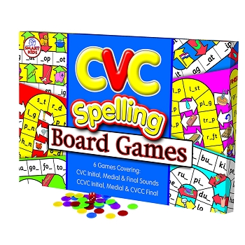 CVC Spelling - Board Games