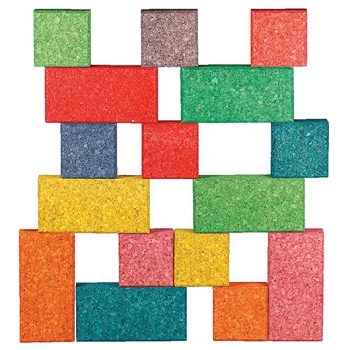 KORXX Eco-Blox with Storage, 38-Piece - Assorted Colors