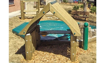 Playhouse without Floor - Metal or Wood Available