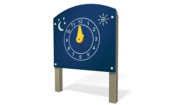 Clock Panel - Metal/Plastic or Wood Available