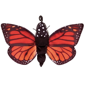 Monarch Life Cycle Hand Puppet, 12'' Long