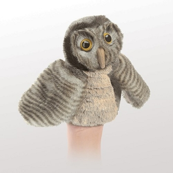 Little Owl Hand Puppet, 6'' Tall