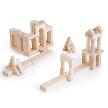 Guidecraft Unit Blocks Set B – 56 Piece Set