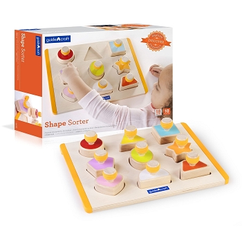 Childrens Shape Sorter and Cognitive Play Set