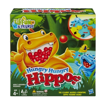 Hungry Hungry Hippos Game Elefun & Friends