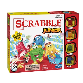 Scrabble Junior Brand Crossword - Game