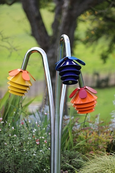 Harmony Bells - Bunch of Three Flowers, Choice of Complementary Chord Sets