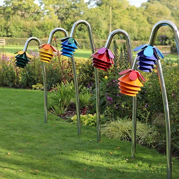 Harmony Bells World Class Outdoor Instruments, in a choice of 6 colors, sizes and notes. Order a Bunch & Save!