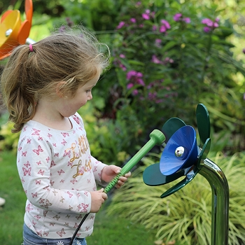 Harmony Flowers World Class Outdoor Instruments, in a choice of 6 colors, sizes and notes