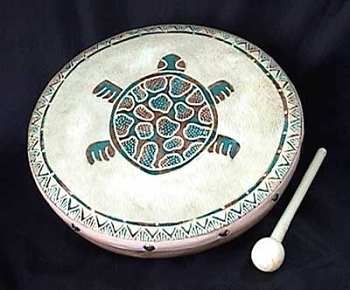 Turtle Frame Drum, 9