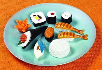 Japanese Cultural Play Food Set, 10 pieces