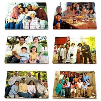 Multicultural Family Puzzles, Set of 6
