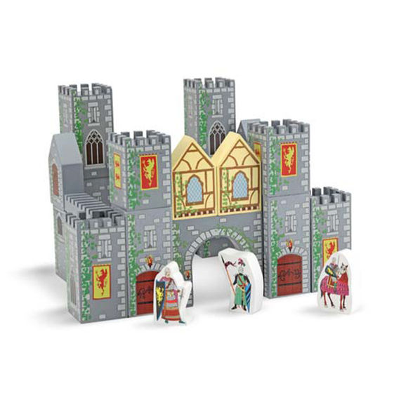 Castle Blocks Set - 28 Pieces