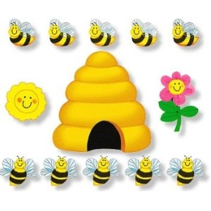Busy Bees - Felt Set