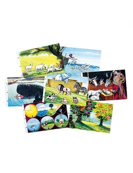 Kit Grandma /& Grandpas Farm Soft Felt Storybook