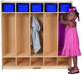 Value Line Preschool Locker for 10 with Cubbies, Fully Assembled