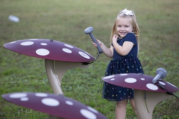 These New Musical Mushrooms are certain to bring a Magical, Mystical Element to your Play Space!