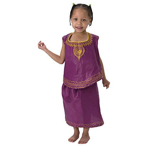African Girl Cultural Wear