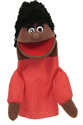 Half Body African American Mom Character Puppet