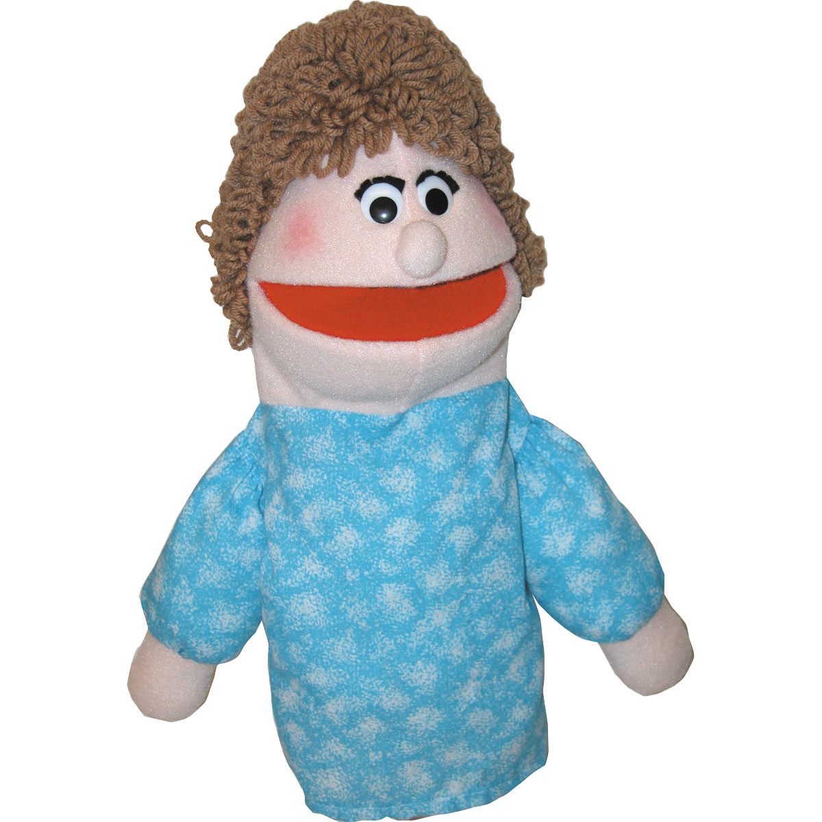 Half Body Caucasian Mom Character Puppet