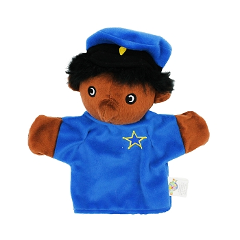 Puppets Machine Washable Police Officer
