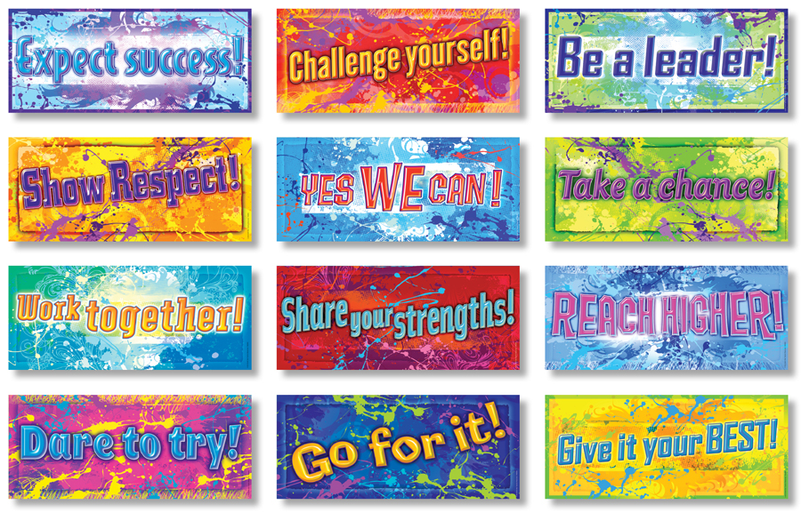 Positive Messages Bulletin Boards