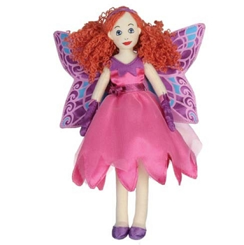 Fairy Butterfly - Light Skin - Finger Puppet