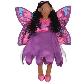 Fairy Butterfly - Dark Skin - Finger Puppet