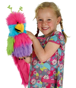Bird of Paradise, Baby Birds Puppet, 12''